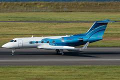 N124DT (sabian404) Tags: cn portland airport international pdx serena g3 giii gulfstream 390 kpdx g1159a glf3 n124dt