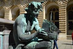 Hold, hold, hold your boat (simon.stoelben) Tags: statue bronze ship cityhall hamburg sightseeing sunny april rathaus sights