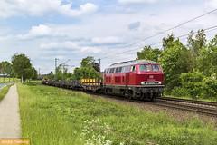 Efw 215 025 Twistringen - Hrne (tsp-Photos) Tags: railroad train eisenbahn zug locomotive bahn osnabrck trein lokomotive lok diesellok privatbahn efw v160 bauzug vehrte 215025