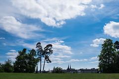 Distant Spires (John fae Fife) Tags: luxembourg kirchberg urbanlandscape xt1 fujifilmx