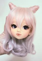 my girl (momori) Tags: school cute doll head kawaii bjd volks gyaru schoolb