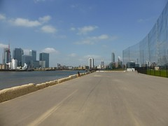 Thames path  Amgerstein to Greenwich (unravelled) Tags: victoriadeepwaterterminal
