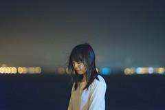 (Tridentz | ) Tags: light sea portrait night hongkong gm waterfront bokeh f14 sony 85mm fe alpha a7