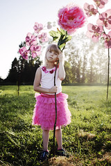 a_MG_80421 (wild_empress) Tags: pink flowers sunset portrait nature floral beauty field composite britishcolumbia surreal fantasy littlegirl dreamy conceptual chilliwack digitalmanipulation pinktutu giantflowers childrenportraiture
