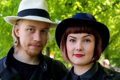 Sakari & Anna (Poupetta) Tags: anna helsinki kallio strangers sakari dallapnpuisto