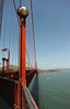 Golden Gate Bridge - South Tower Observation Deck - 2016 (tonopah06) Tags: sanfrancisco california ca bridge light deck goldengatebridge sanfranciscobay ftpoint ggb 2016 lightstandard