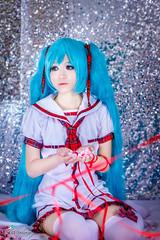_MG_0451 (Negi Shooter) Tags: anime canon cosplay outdoor manga novel greenhair miku 550d twintails vocaloid hatsunemiku negishooter