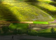 _DSC5380 (Giuseppe Cocchieri) Tags: light shadow mountain color verde green primavera colors landscape countryside spring nikon colore o earth hill valle shades ombre hills campagna nikkor terra colori montagna luce paesaggio colline collina forme vallata