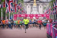 #Vitality10000 London (cuppyuppycake) Tags: uk england holiday jack nikon memorial day marathon union bank palace flags 10k runners buckingham 2016 vitality london10000 d7200