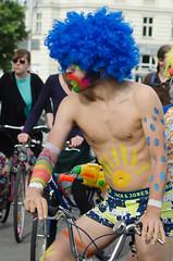 payaso (vienadirecto) Tags: vienna street urban calle bicicleta criticalmass urbano viena vienne bycicle 2016 fahrad viennanakedride