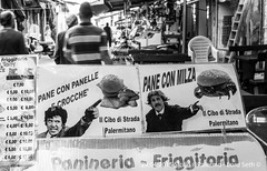 Palermo (Lord Seth) Tags: bw italy nikon candid streetphotography palermo mercato sicilia franco biancoenero ciccio ballar 2015 panelle milza d5000 banacarelle lordseth