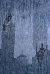 Big Ben (Multiple Exposures) (goodfella2459) Tags: abstract colour london film water thames 35mm river big nikon exposure experimental ben slide multiple fujifilm provia milf e6 f4 400x
