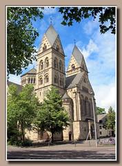 Herz-Jesu-Kirche (erbaut 1900-1903) (p_jp55 (Jean-Paul)) Tags: church germany deutschland kirche allemagne église koblenz rheinlandpfalz herzjesukirche kowelenz