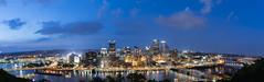 Pittsburgh Skyline - Panorama (Ryan Grewell Photography) Tags: panorama skyline nikon long exposure pittsburgh d810 1424g