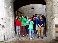 DSC05430 (Mr.J.Martin) Tags: germany austria burghausen castle burgfest salzach bavaria gapp student school tourist tourism exchange
