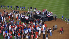 2011 ALCS Game 6 Detriot Tigers @ Texas Rangers (Media Dugout) Tags: texasrangers alcs mlb detriottigers 2011 alcsgame6