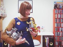 Elizabeth Elmore, Mother of Dinobots! (Fuss Free McGee) Tags: toy toys robot dinosaur transformer slag robots transformers figure figures sludge dinosaurs swoop autobot snarl collectable autobots decepticon decepticons grimlock dinobots
