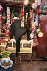 Ghetto Obsession (michel nguie) Tags: africa street urban man film vertical analog fez marocco fes fs michelnguie babrcif