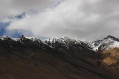 Snow Capped Mountains pt. 2 (Shakti Priyan Nair) Tags: trip mountain snow mountains landscape cloudy outdoor pass snowcapped leh ladakh khardungla highest clouded motorable