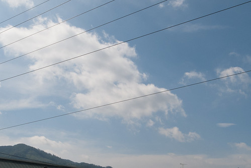 The sky above Kyoto