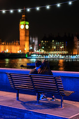 Young Love (Tedz Duran) Tags: tedzduran london southbank england uk europe lovers love young people boy girl river thames night photography street urban big ben westminster bridge outdoor milvus1450 carlzeiss
