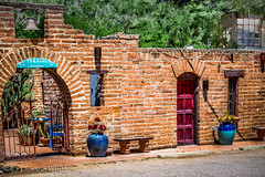 Scenes from Tubac (xTexAnne) Tags: arizona brick architecture arches pottery tubac nikond7100 diannewhite