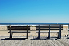 benches - ocean grove (BehindBlueEyes) Tags: ocean newjersey nj monmouthcounty oceangrove