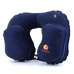 Andake Inflatable Pillow Suitable as Travel Pillow, Neck pillow, Best Pillow for Supporting Neck while Travelling, Car Driving, Office Napping and Working at Computer-a Great Gift for Friends (wupplestravel) Tags: travel friends travelling neck office driving great working best pillow inflatable gift napping supporting suitable computera andake
