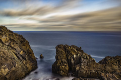 Looking For Perspective [EXPLORE: 6/11/16] (Wilkof Photography) Tags: california ca longexposure light sunset shadow sea sky terrain cliff seascape abstract mountains beach nature water overgrown skyline rural canon lens landscape coast countryside waterfall sand rocks waves cloudy hiking cove tide horizon rustic perspective scenic rocky surreal windy overcast landmark panoramic boulder malibu pacificocean socal le nd land inlet 20mm southerncalifornia hillside polarizer habitat cloudcover beachfront cpl vantage rockformation pacificcoasthighway pointmugu oceanfront topography cliffside oceanscape neutraldensity 18135mm 10stop nd1000 canont4i wilkofphotography