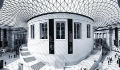 London (smartix92) Tags: uk trip england bw white holiday black london museum amazing britishmuseum