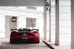 Koenigsegg Agera RS (McManF1) Tags: red star hotel singapore 5 expensive rs luxury rare koenigsegg raffles opulence agera agerars