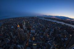 Manhattan for Miles (Brandon Godfrey) Tags: newyorkcity newyork ny nyc manhattan thebigapple urban city cityscape bluehour twilight usa unitedstatesofamerica unitedstates us eastriver hudsonriver