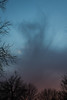 Whispy clouds (dharder9475) Tags: blue trees winter sunset clouds evening purple lookingup bluehour logansquare 2015 privpublic