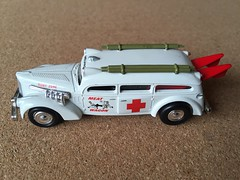 Playing Mantis Johnny Lighting - Meat Wagon - Ambulance - Miniature Die Cast Metal Scale Model Emergency Services Vehicle (firehouse.ie) Tags: playing car metal mantis toy miniature model die 1999 ambulance cast johnny vehicle lightning ambulancia ambulanz meatwagon