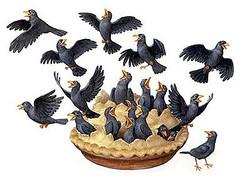 Amended Nursery Rhyme2 (Little Boffin (PeterEdin)) Tags: bird pie comedy poem blackbird nurseryrhyme singasongofsixpence richarddigence