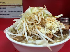 Ramen from Ramen Jiro @ Senju Oohashi (Fuyuhiko) Tags: from tokyo ramen  toyko  jiro senju   oohashi