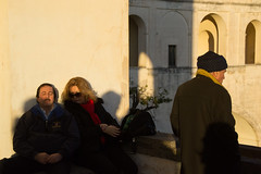 Napoli, 2015 (Antonio_Trogu) Tags: italia italy inverno winter street streetphotography antoniotrogu nikond3100 2015 napoli naples coppia couple sanmartino vomero candid