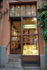 shoemaker shop (PIKTORIO) Tags: street berlin window shop kreuzberg germany dusk storefront typo shopfront shoemaker piktorio