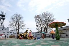 DSCF1483 (chinnian) Tags: japan aomori  fujifilm loveforever x70  yayoikusama towada   towadaartcenter  fujifilmx70 singingintowada