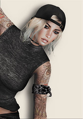 juni9 ([] Nieor Svir []) Tags: woman moon fashion hair logo style mandala poetic sl alterego secondlife blogging pekka lotd maitreya meshhead meshbodylara kz