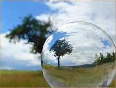 """Ball """" Mount Keule """"... (der bischheimer) Tags: ball crystal rund kugel lausitz derbischheimer"""