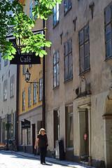 Gamla Stan - Stockholm (KWaterhouse) Tags: stockholm gamlastan oldtown street sunlit sweden nikond5300