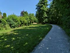 Stadt-rund-Weg (bratispixl) Tags: germany oberbayern spot schrfentiefe waldrand chiemgau lichtwechsel traunreut fokussierung fz200 gartenwiese stadtrundweg bratispixl