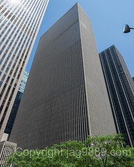 The Exxon Office Tower at 1251 Avenue of the Americas, New York City (jag9889) Tags: 1221sixthavenue 1251avenueoftheamericas 1251sixthavenue 2016 20160624 architecture building exxon house manhattan mcgrawhill midtown ny nyc newyork newyorkcity office outdoor rockefellercenter sixthavenue skyscraper tower tree usa unitedstates unitedstatesofamerica jag9889