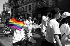 AMarcherIV@NYCPride2016 (urlite_shine) Tags: color march flag streetphotography pride pulse greenwichvillage lgbtq stonewallinn westandwithorlando nycpride2016
