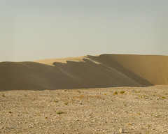 South Of Singing XVI (Doha Sam) Tags: summer panorama digital sand nikon raw desert stitch dunes wilderness qatar hugin d80 southerndesert samagnew smashandgrabphotocom wwwsamagnewcom maketiff manualrawprocessing