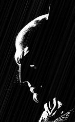 Batman (Jackie XLY) Tags: batman sincity sincityart blackandwhite comic comicbookart art comicbook cartoon miller frankmiller frankmillerart frankmillerstyle dark rain frankmillerartist frankmillercomicbookart