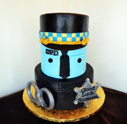 Chicago Police Dept Cake