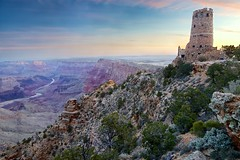 The Watchtower (Kirk Lougheed) Tags: arizona sunrise landscape dawn nationalpark grandcanyon canyon coloradoriver desertview watchtower grandcanyonnationalpark