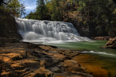 Cane Creek Cascades - Fall Creek Falls State Park, TN. (VonShawn) Tags: nature waterfall tennessee hdr circularpolarizer canecreek ndfilter photomatix tonemapped fallcreekfallsstatepark nikond90 canecreekcascades